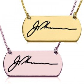 Collar Firma Horizontal