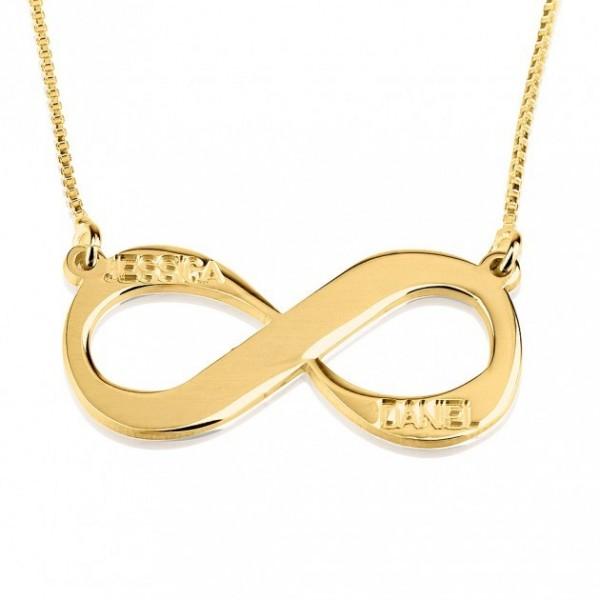 Collares con el Símbolo Infinito > Collar Infinito Dos Nombres