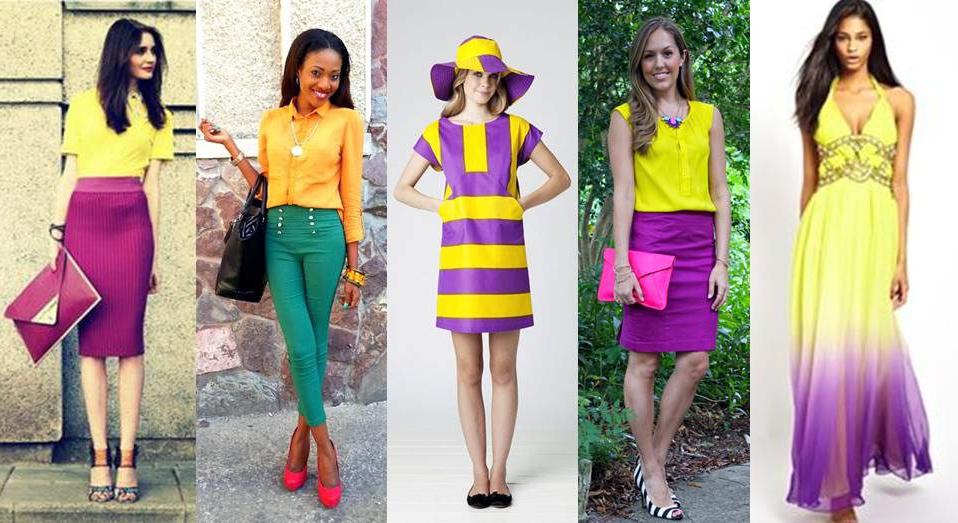 Colores que combinan con el amarillo - Que colores combinan con el lila ...